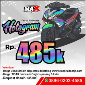 promo decal aerox